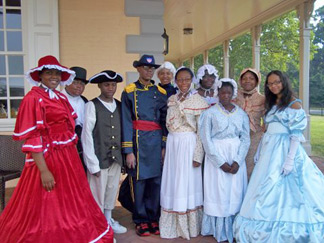 Belmont Mansion Reenactors